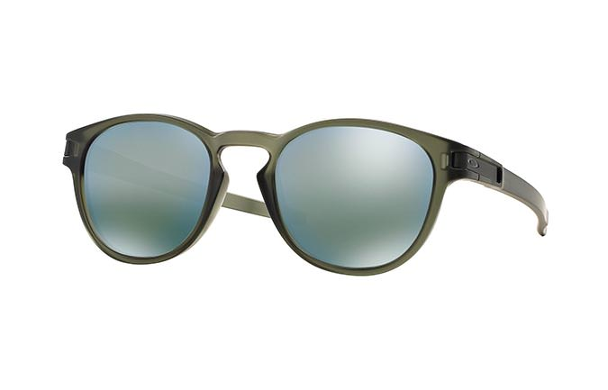 SUNGLASSES OAKLEY LATCH MATTE OLIVE INK/EMERALD IRIDIUM