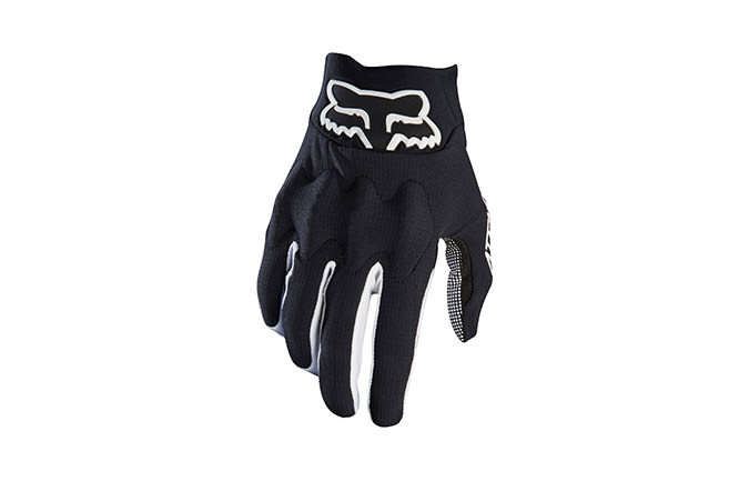 FOX ATTACK GLOVES BLACK/WHITE