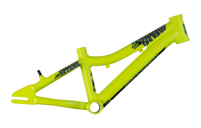 FRAME RAMONES 14 YELLOW W/DECAL