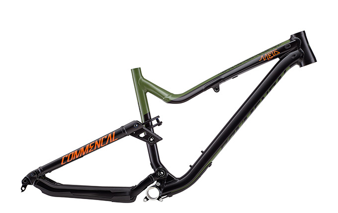FRAME META AM V4.2 650B BRITISH COLUMBIA GREEN/ORANGE/BLACK 2018