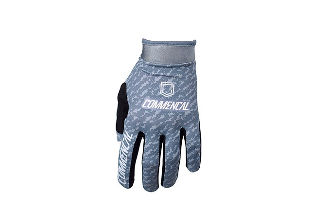 COMMENCAL GLOVES DARK GREY