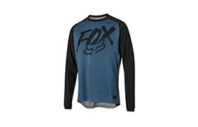 FOX KIDS RANGER LONG SLEEVE JERSEY BRIGHT BLUE 2019