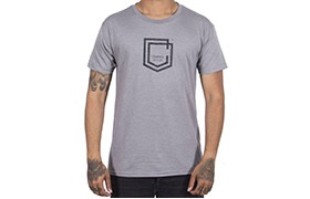 COMMENCAL SHIELD T-SHIRT HEATHER GREY