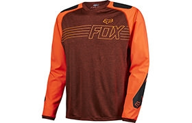 FOX HEAD EXPLORE LONG SLEEVE JERSEY RED 2016
