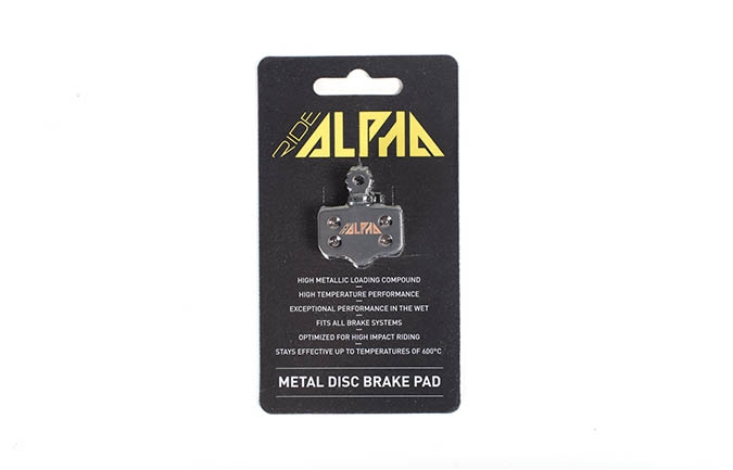 RIDE ALPHA SINTERED BRAKE PADS FOR AVID ELIXIR R/CR/3/5/XX 2016