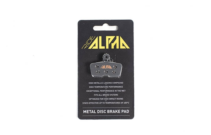 RIDE ALPHA SINTERED BRAKE PADS FOR AVID CODE / GUIDE RE