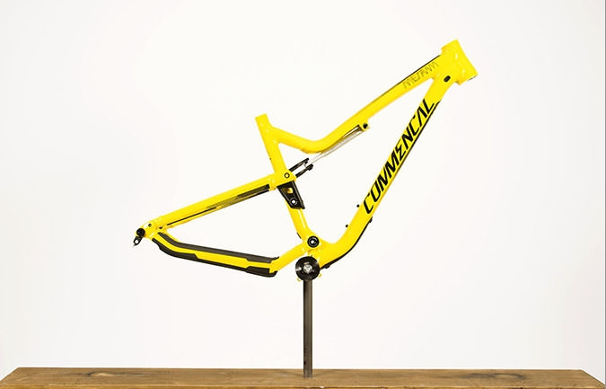 FRAME META AM V4.2 YELLOW 2017 (M)