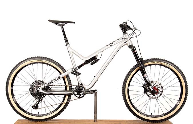 META AM V4.2 RACE 650B BRUSHED 2018 (XL)