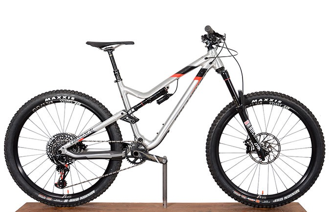 META AM V4.2 WORLD CUP 650B BRUSHED RED 2018 (M)