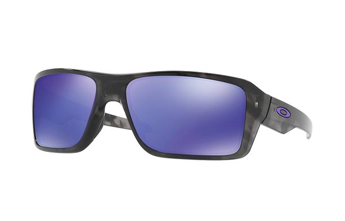 SUNGLASSES OAKLEY DOUBLE EDGE MATTE BLACK TORT/VIOLET IRIDIUM