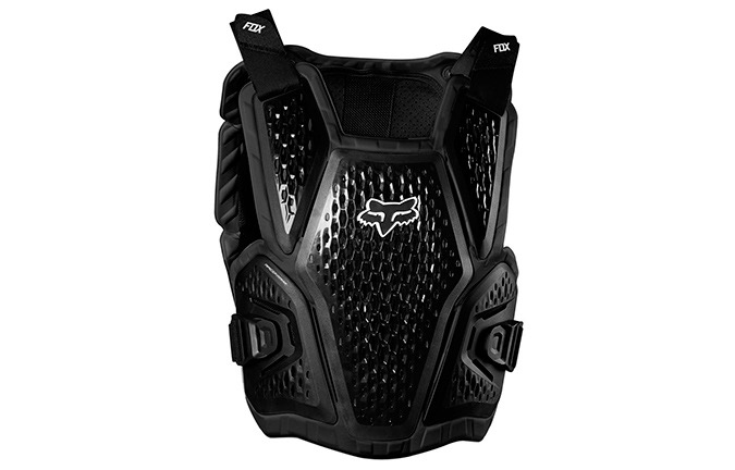 FOX YOUTH IMPACT VEST RACEFRAME ROOTS BLACK 2019
