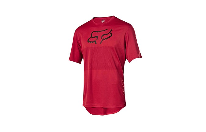 FOX KIDS RANGER SHORT SLEEVE JERSEY OPEN RED 2019