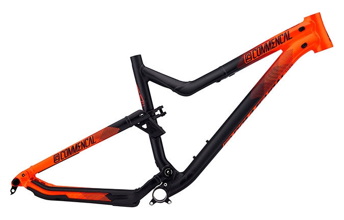 FRAME META AM V4 650B ORANGE 2016