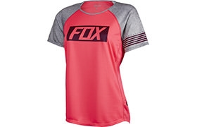 FOX HEAD WOMEN RIPLEY SHORT SLEEVE JERSEY PINK 2016