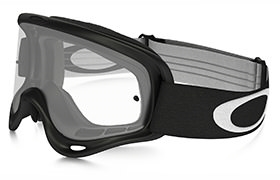 OAKLEY O FRAME MX BLACK GOGGLES CLEAR LENS