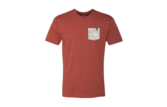 BASIC T-SHIRT RED / GREY 2018