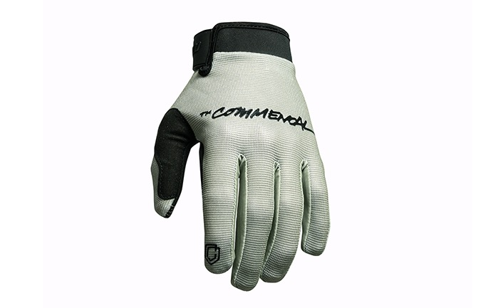 COMMENCAL VELCRO FASTEN GLOVES HERITAGE GREEN