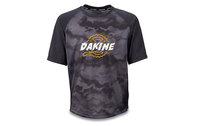 DAKINE KIDS SHORT SLEEVE PRODIGY JERSEY BLACK/DARK ASHCROFT 2020