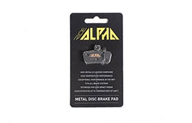 RIDE ALPHA SINTERED BRAKE PADS FOR SRAM GUIDE / G2