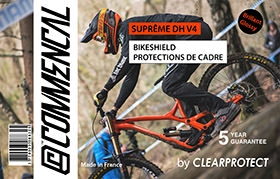 KIT CLEARPROTECT CUSTOM FOR SUPREME DH V4 SHINY