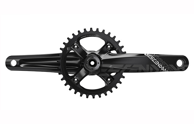 TRUVATIV DESCENDANT DH CRANKSET 165MM