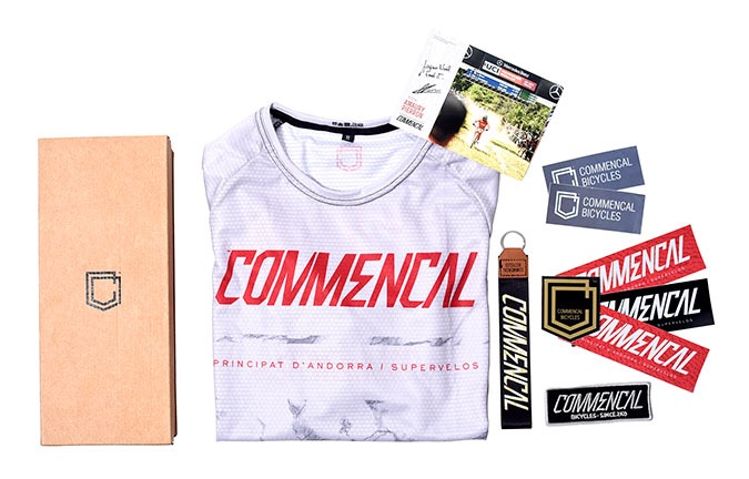COMMENCAL GIFT SET #KID