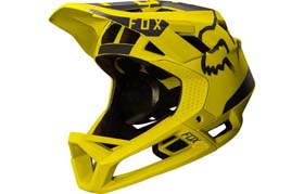 FOX PROFRAME HELMET YELLOW