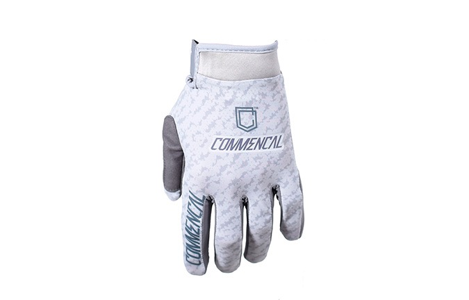 COMMENCAL GLOVES SCRATCH LIGHT GREY