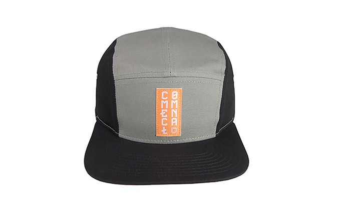COMMENCAL 5 PANEL CAP BLACK GREY 2020