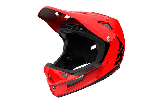 FOX RAMPAGE COMP INFINITE HELMET BRIGHT RED