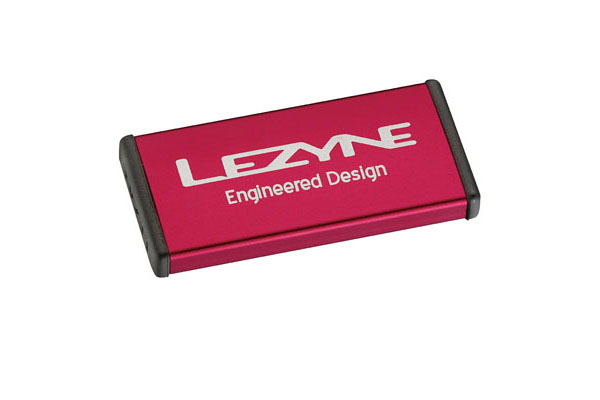 LEZYNE TIRE REPAIR KIT - ALU CASE, 6 PATCHES RED