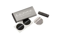 LEZYNE TIRE REPAIR KIT - ALU CASE, 6 PATCHES GREY