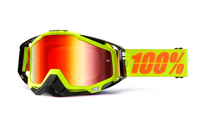 100% GOGGLE RACECRAFT NEON SIGN