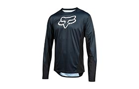 FOX DEMO LONG SLEEVE JERSEY CAMO BURN