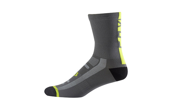 FOX LOGO TRAIL SOCK YELLOW