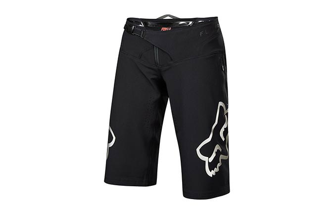 FOX WOMEN FLEXAIR SHORT BLACK/CHROME 2018