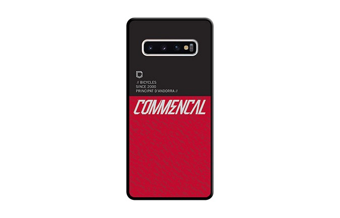 COMMENCAL  SAMSUNG GALAXY S10 CASE RED 2019