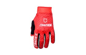 COMMENCAL GLOVES SCRATCH RED