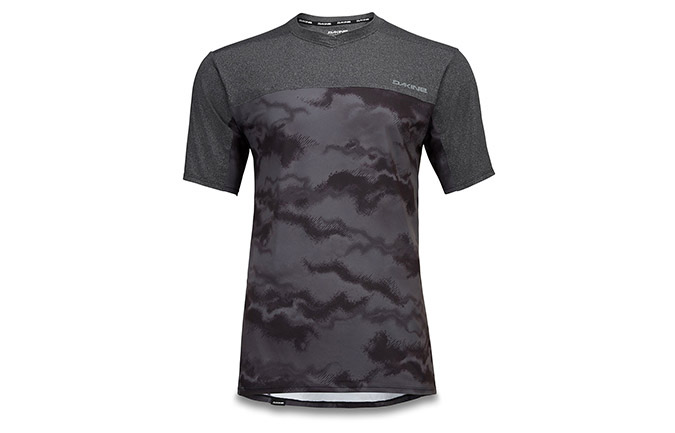 DAKINE SHORT SLEEVE VECTRA JERSEY BLACK/DARK ASHCROFT