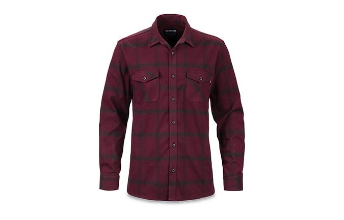 DAKINE UNDERWOOD FLANNEL SHIRT PLUM SHADOW 2018
