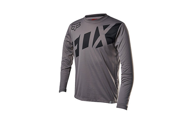 FOX YOUTH RANGER JERSEY GRAPHITE