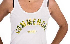 TANK TOP COLLEGE WHITE GIRLY 2018