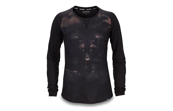 DAKINE XENA LONG SLEEVE JERSEY DARK WOLF