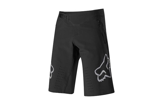 FOX DEFEND SHORTS BLACK