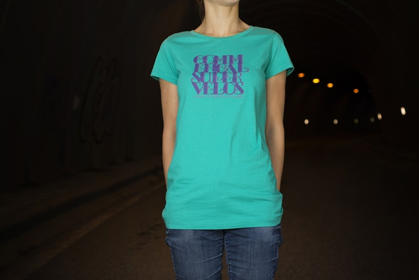 T-SHIRT GIRLY GREEN
