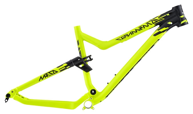 FRAME META AM V4 650B YELLOW 2015