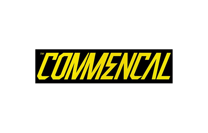 COMMENCAL STICKER YELLOW 300 X 75 MM 2016