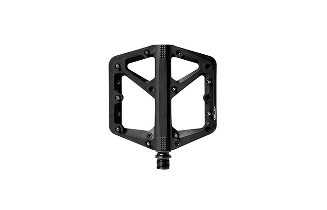 CRANKBROTHERS STAMP 1 LARGE BLACK PEDALS