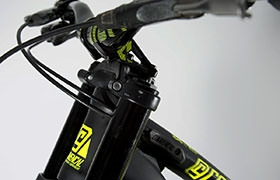SUPREME DH V4 RACE ROCK SHOX YELLOW 2016 (S)