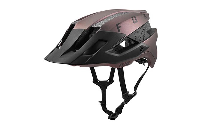 FOX FLUX SOLID OPEN BLACK IRIDIUM 2019 HELMET